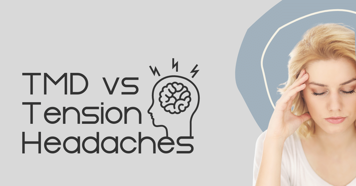 TMD Headaches vs Tension article